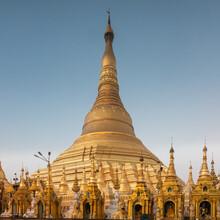 Golden Stupa Of The Shwedagon ...