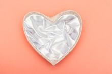 Textile Heart Shape Gift Box O...