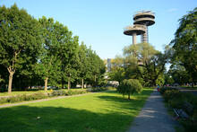 New York, NY, USA - June 25, 2019: Flushing Meadows Corona Park Located In The Northern Part Of Queens