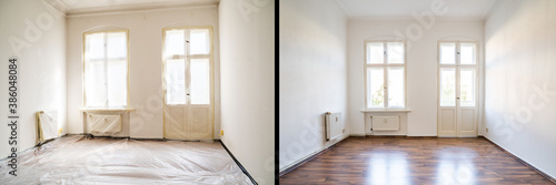 Obraz House Wall Paint Inside - fototapety do salonu