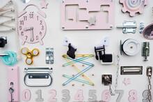 Children's Educational Board, Various Tactile Elements