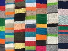 Rug Blanket Made Of Woven Rag ...