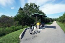 A Bike Path In A South Florida...