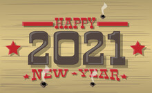 2021 HAPPY NEW YEAR WESTERN