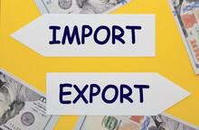 Import Export Concept