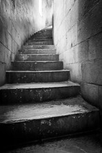 Stairs In The Baptistery San G...