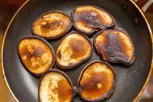 Homemade Cake. A Few Burnt Pan...