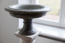 Dark Gray Stone Vase, Classica...