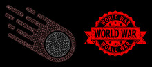 Textured World War Seal And Po...
