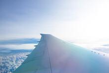 機内から見た風景