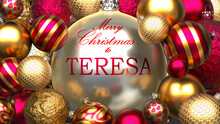 Christmas Card For Teresa To S...