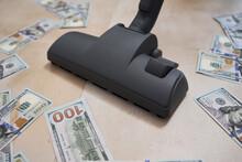 Vacuum Cleaner Suck Usd Dollar...