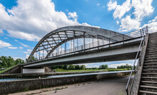 Double Concrete Arch Bridge Ov...