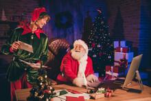 Photo Portrait Of Santa Claus ...