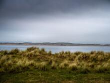 Marram Grass View As Storm Com...