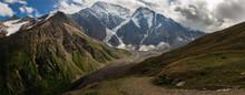 Panarama Of The Caucasus Mount...