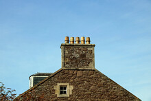 Old Stone Cottage Chimney Head...
