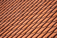 Red Tiled Roof In Sunshine