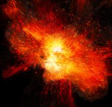 Realistic Fiery Detonation Wit...