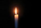 蝋燭のともしび
