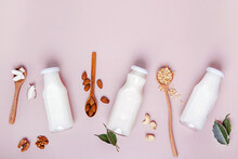 Different Types Of Non Dairy Vegan Milk