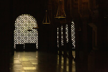 Backlight From Arched Arabic M...