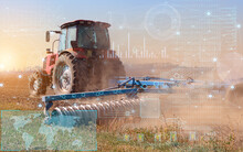 The Concept Of Automatic Control Of A Tractor In Agriculture And Its Detection On The GPS Map, Technologies Of The Future To Facilitate Human Work
