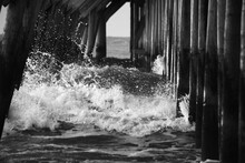 Surf Under A Fishing Pier