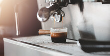Fresh Morning Espresso Coffee ...