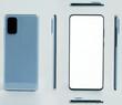All views of modern smartphone