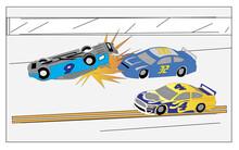 Racing Car Vector Design,racer