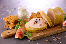 Foie Gras With Fresh Fig And G...