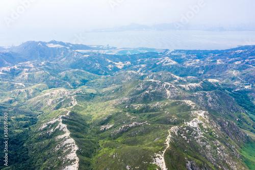 Obraz Mountain landscape, Castle Peak, Hong Kong, outdoor scenery - fototapety do salonu