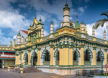 Abdul Gafoor Mosque In Singapore's Little India District