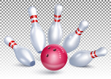 The Bowling Ball Hits The Pins...