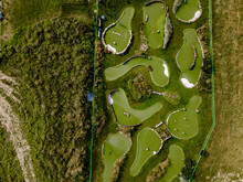 Outdoor Mini Golf Course In Koszalin