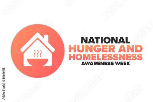 Fotografie, Tablou National Hunger and Homelessness Awareness Week concept