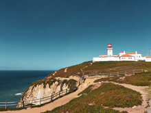 Roca Cape Lighthouse In The  W...