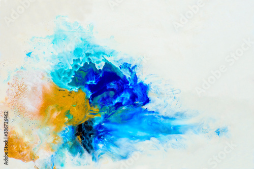 Fotografia, Obraz Abstract oil paint background