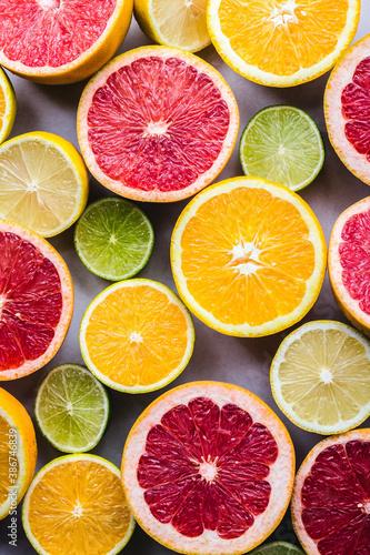 Fototapeta citrus fruit background