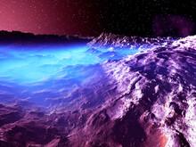 宇宙山脈と霧