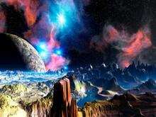 惑星とブラックホール