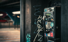 Old Phone Booth Side
