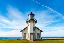 Lighthouse On The Coast Of Sta...