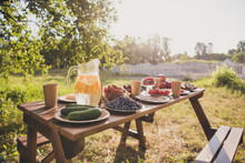 Photo Of Summer Dinner Table F...