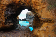 Looking Through Natural Arch T...