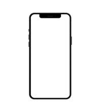 Smartphone Frameless Mockup. M...