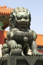 Statue Of A Chinese Guardian L...