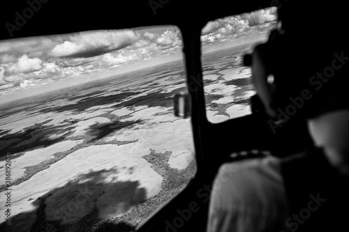 Photo Douglas DC-3 aircraft in Colombia.