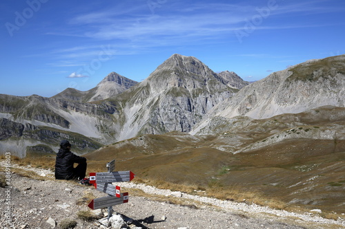 Panoramic views of the Gran Sasso National Park Fototapeta